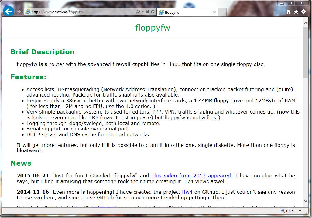01 - FloppyFW site